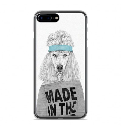 Coque en silicone Apple IPhone 8 Plus - BS 80s Bitch