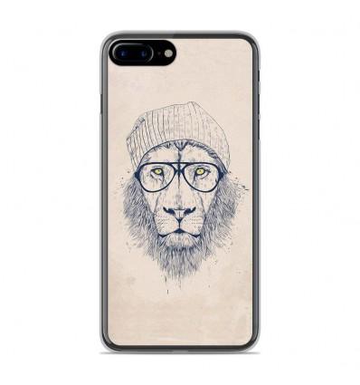 Coque en silicone Apple IPhone 8 Plus - BS Cool Lion