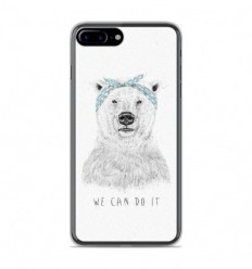 Coque en silicone Apple IPhone 8 Plus - BS We can do it