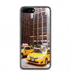 Coque en silicone Apple IPhone 8 Plus - NY Taxi
