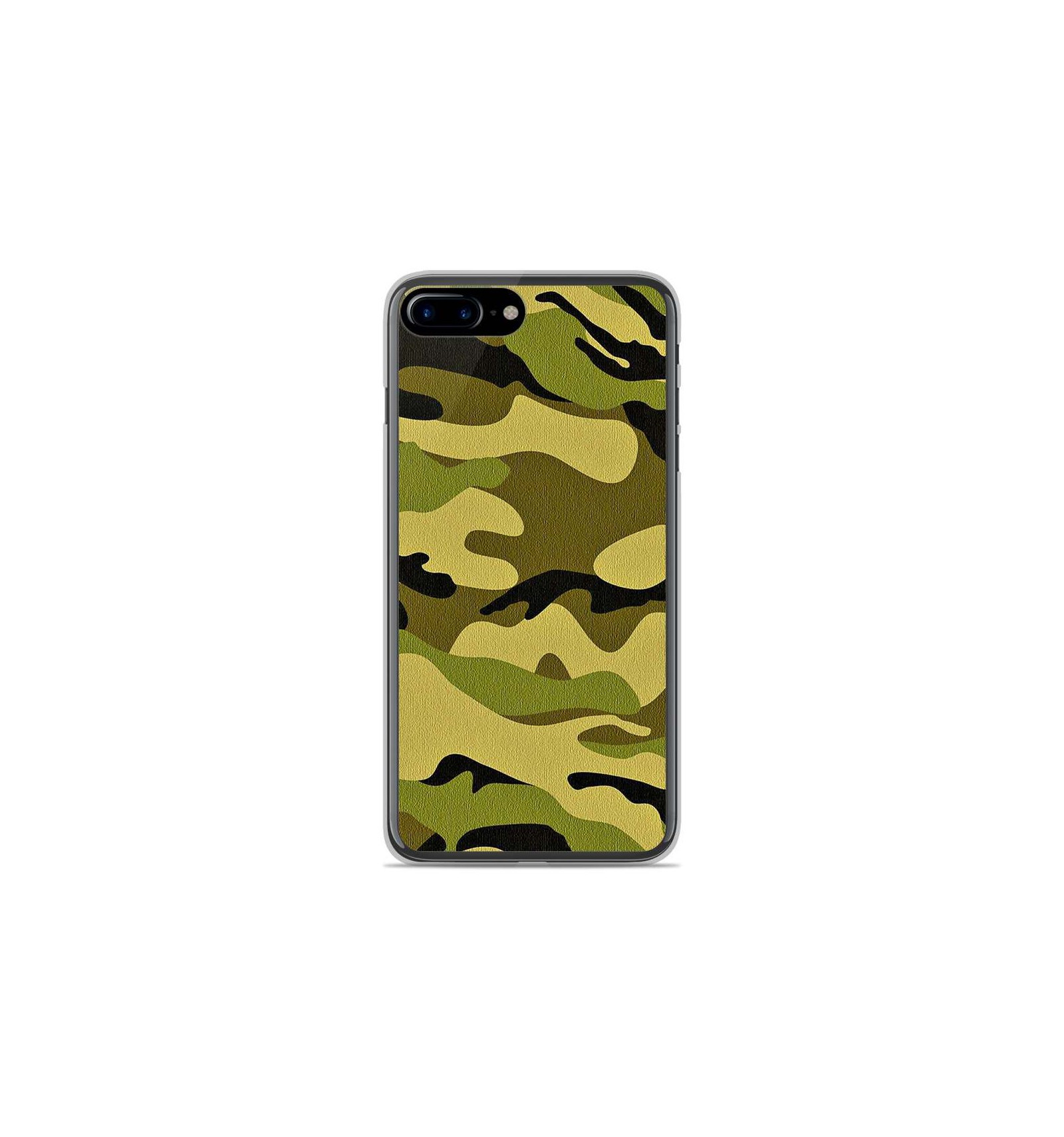 coque iphone 8 plus camouflage