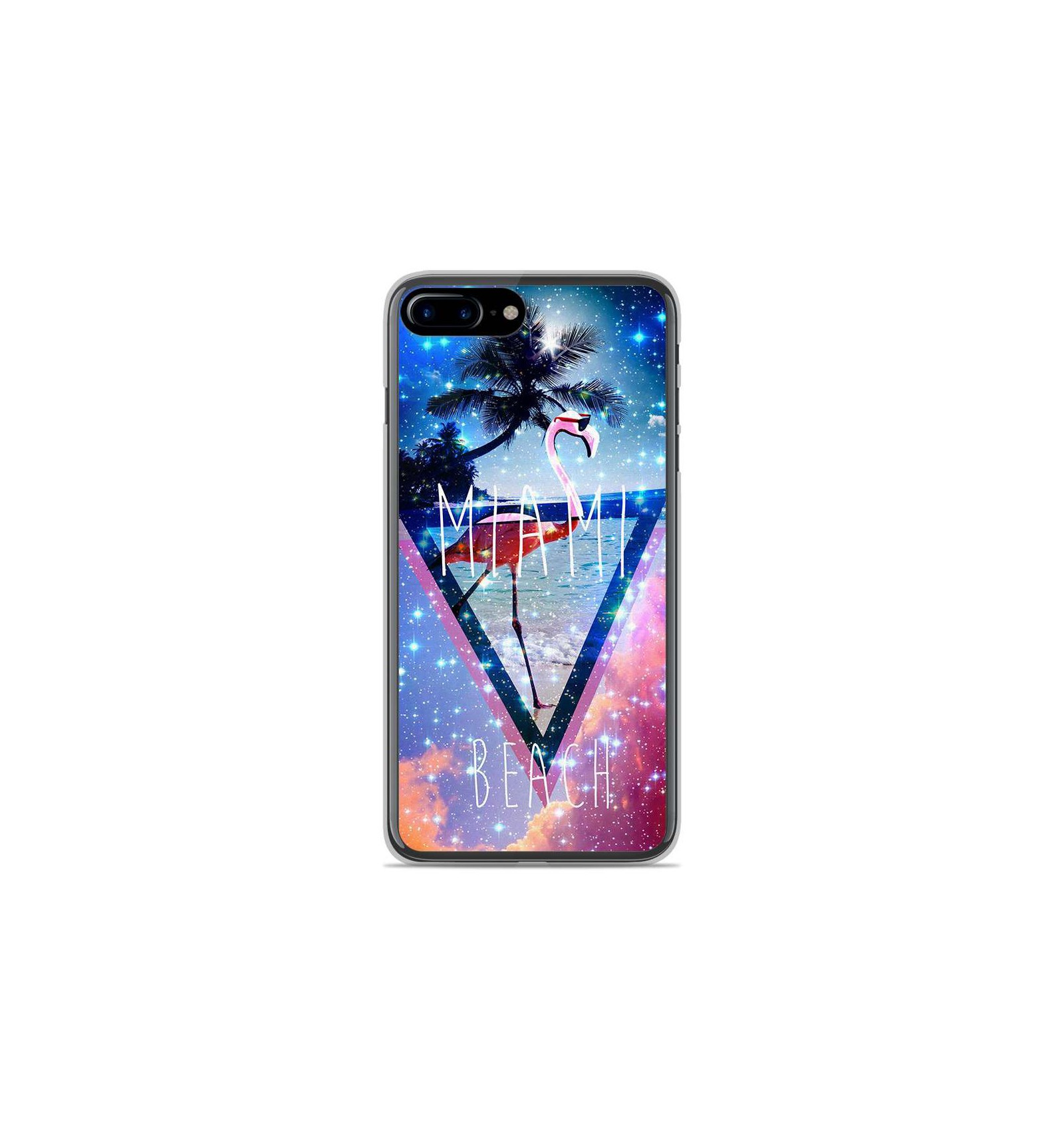 Coque En Silicone Apple Iphone 8 Plus Miami Beach