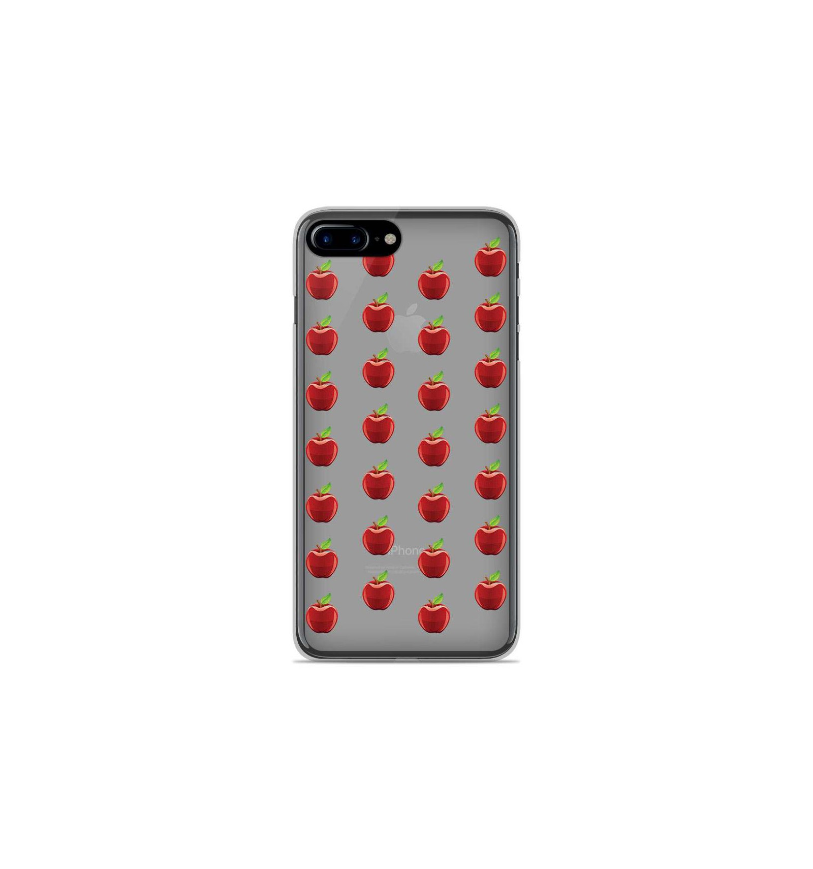 coque iphone 8 silicone pomme