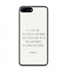 coque iphone 8 plus silicone citation