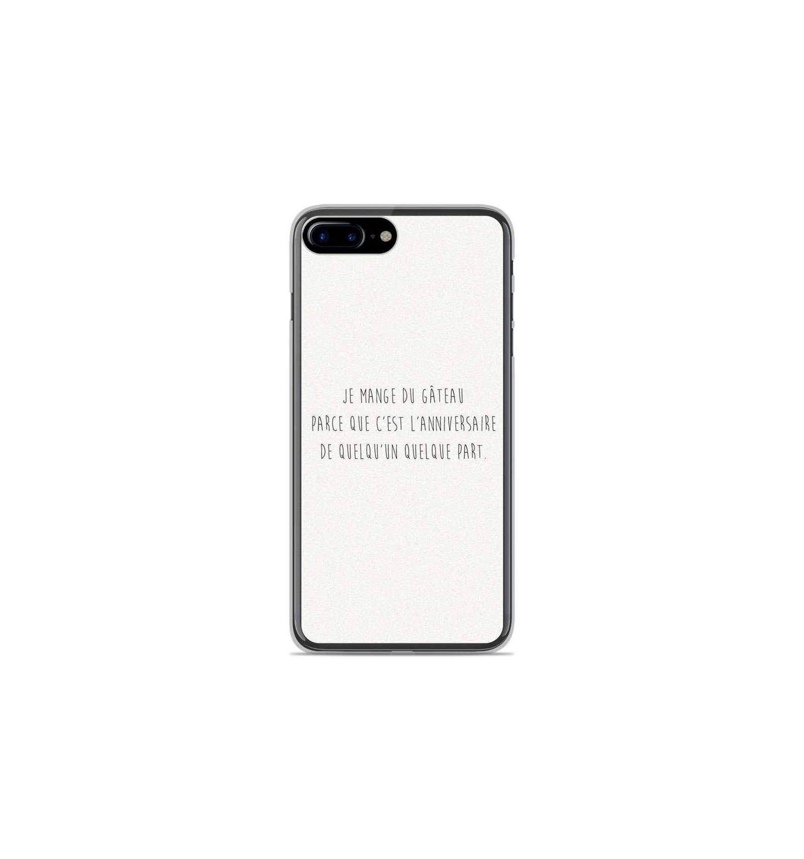 coque en silicone apple iphone 8 plus citation 12