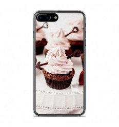 Coque en silicone Apple IPhone 8 Plus - Cup Cake