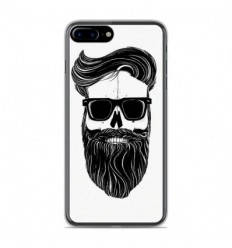 Coque en silicone Apple IPhone 8 Plus - Skull Hipster