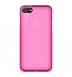 Coque Apple IPhone 7 / iPhone 8 Silicone Gel givré - Rose Translucide