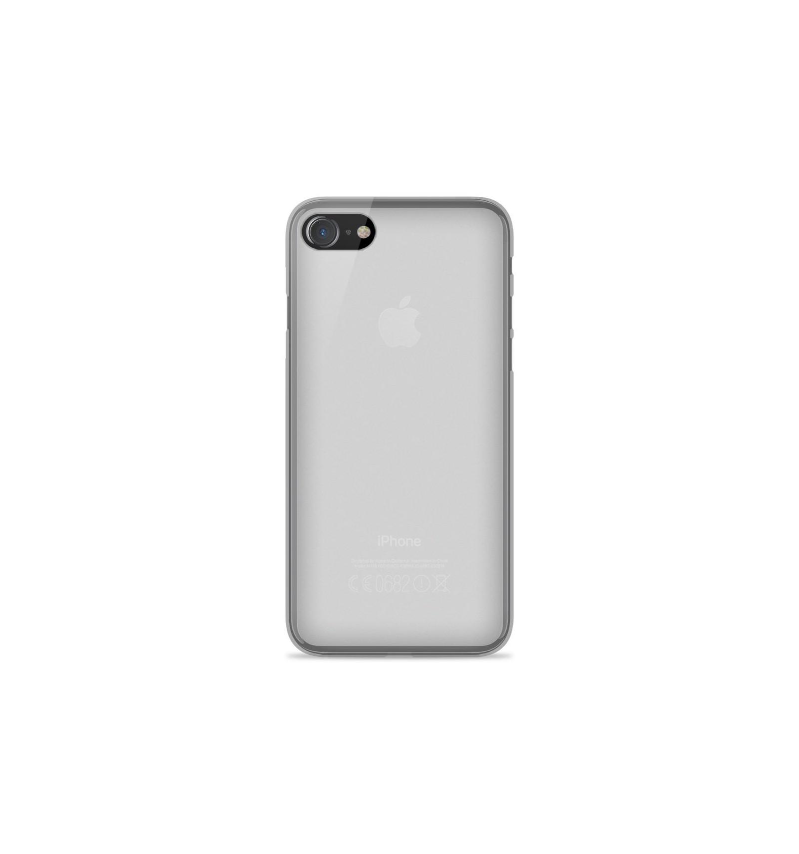coque iphone 8 plus silicone blanc