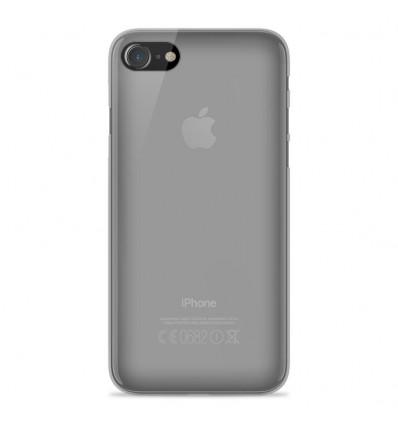Coque Apple IPhone 7 Plus / iPhone 8 Plus Silicone Gel givré - Transparent