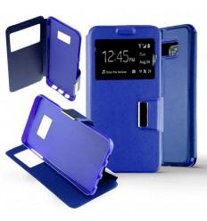 Etui Folio Samsung Galaxy S8 - Bleu
