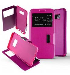 Etui Folio Samsung Galaxy S8 - Rose Fushia