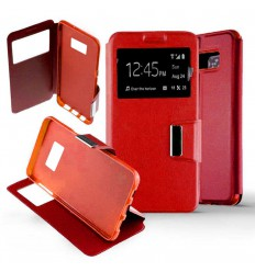 Etui Folio Samsung Galaxy S8 - Rouge