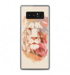 Coque en silicone Samsung Galaxy Note 8 - RF Desert Lion