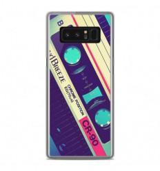 Coque en silicone Samsung Galaxy Note 8 - Cassette Vintage