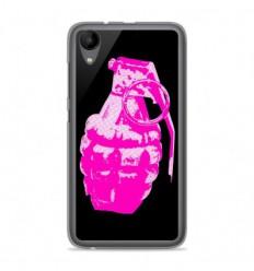 Coque en silicone Wiko Sunny 2 - Grenade rose