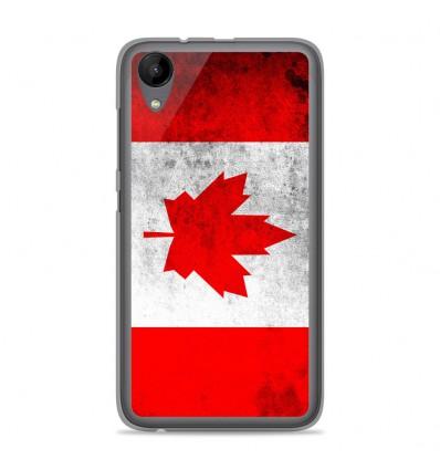 Coque en silicone Wiko Sunny 2 - Drapeau Canada