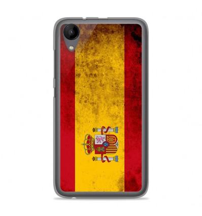 Coque en silicone Wiko Sunny 2 - Drapeau Espagne