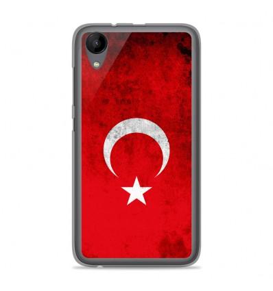 Coque en silicone Wiko Sunny 2 - Drapeau Turquie