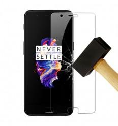 Film verre trempé - OnePlus 5 protection écran
