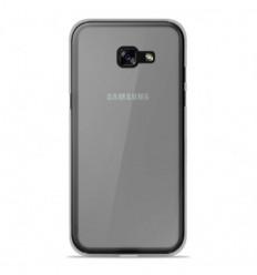 Coque Samsung Galaxy A3 2017 Silicone Gel givré - Blanc Translucide