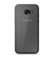 Coque Samsung Galaxy A3 2017 Silicone Gel givré - Transparent