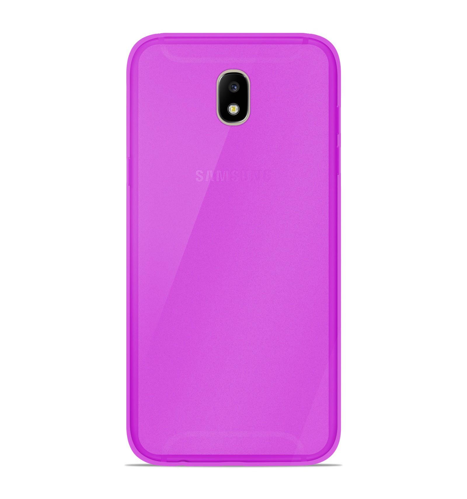 coque samsung galaxy j7 2017 silicone gel givr violet translucide. Black Bedroom Furniture Sets. Home Design Ideas