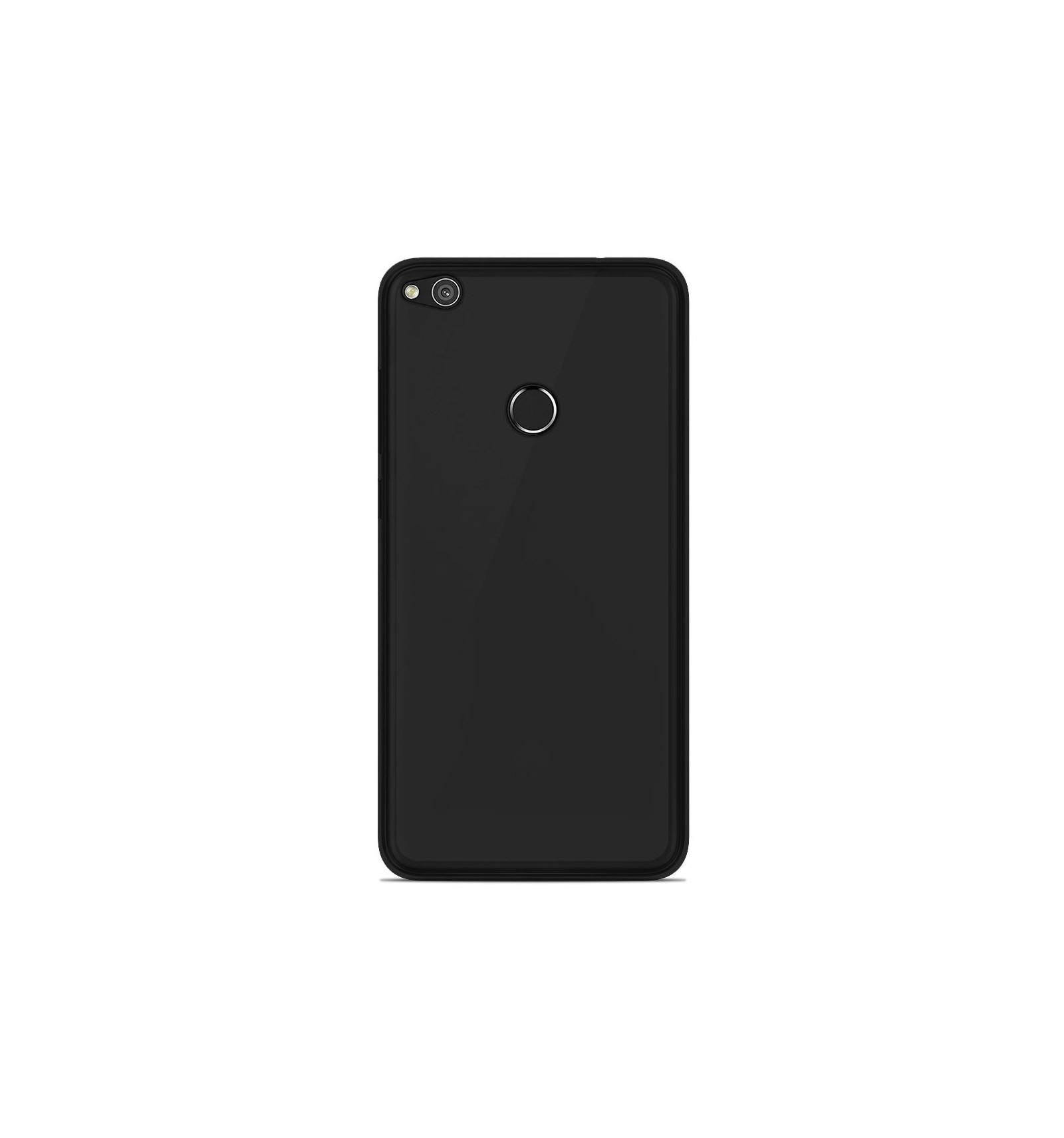 coque huawei p8 lite 2017 silicone noir