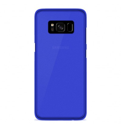 coque samsung galaxy s8 plus silicone gel givr bleu. Black Bedroom Furniture Sets. Home Design Ideas