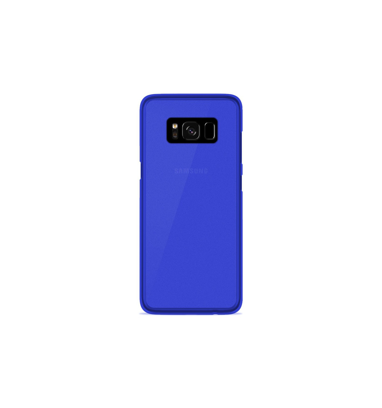 coque samsung galaxy s8 plus silicone gel givr bleu translucide. Black Bedroom Furniture Sets. Home Design Ideas
