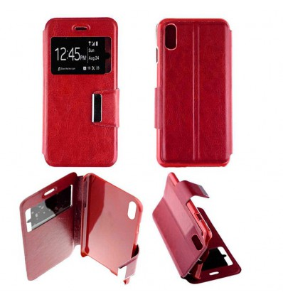 Etui Folio Apple iPhone X / XS - Rouge