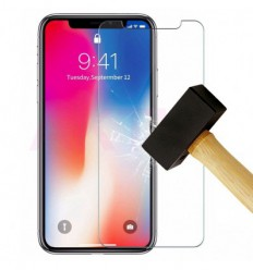 Film verre trempé - Apple iPhone X / XS protection écran