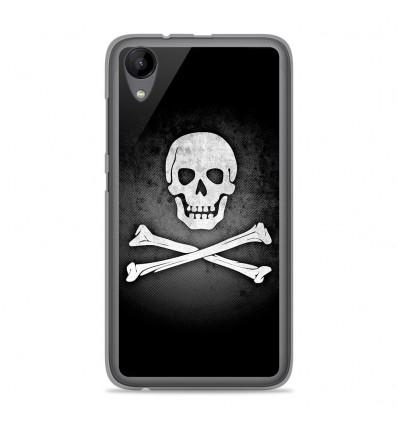 Coque en silicone Wiko Sunny 2 - Drapeau Pirate