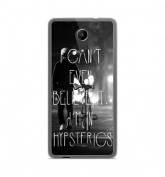 Coque en silicone Wiko Tommy 2 - Hipsterics