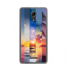 Coque en silicone Wiko Tommy 2 - Aloha