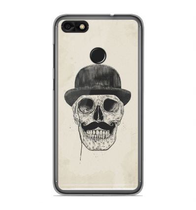 coque en silicone huawei y6 pro 2017 bs class skull. Black Bedroom Furniture Sets. Home Design Ideas