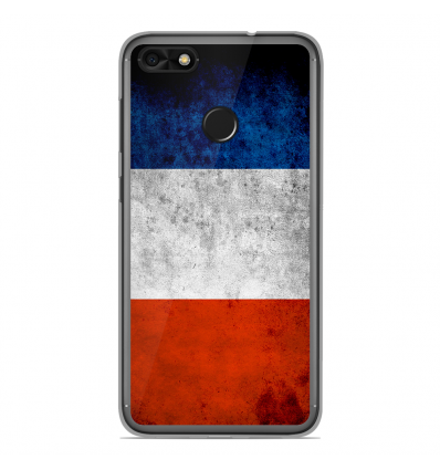 coque en silicone huawei y6 pro 2017 drapeau france. Black Bedroom Furniture Sets. Home Design Ideas