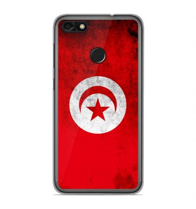 coque en silicone huawei y6 pro 2017 drapeau tunisie. Black Bedroom Furniture Sets. Home Design Ideas
