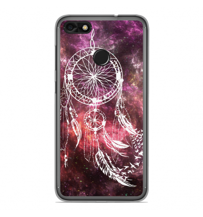 coque en silicone huawei y6 pro 2017 dreamcatcher space. Black Bedroom Furniture Sets. Home Design Ideas