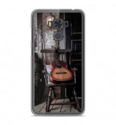 Coque en silicone Asus Zenfone 3 Max ZC553KL - Guitare