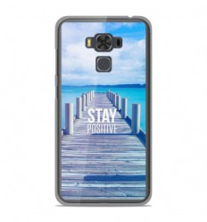 Coque en silicone Asus Zenfone 3 Max ZC553KL - Stay positive