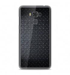 Coque en silicone Asus Zenfone 3 Max ZC553KL - Texture metal