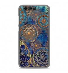 Coque en silicone Huawei Honor 9 - Mandalla bleu