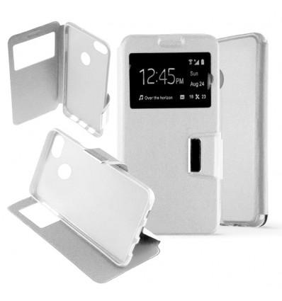 Etui Folio Huawei Y6 Pro 2017 - Blanc