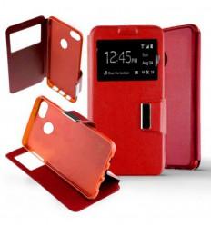 Etui Folio Huawei Y6 Pro 2017 - Rouge