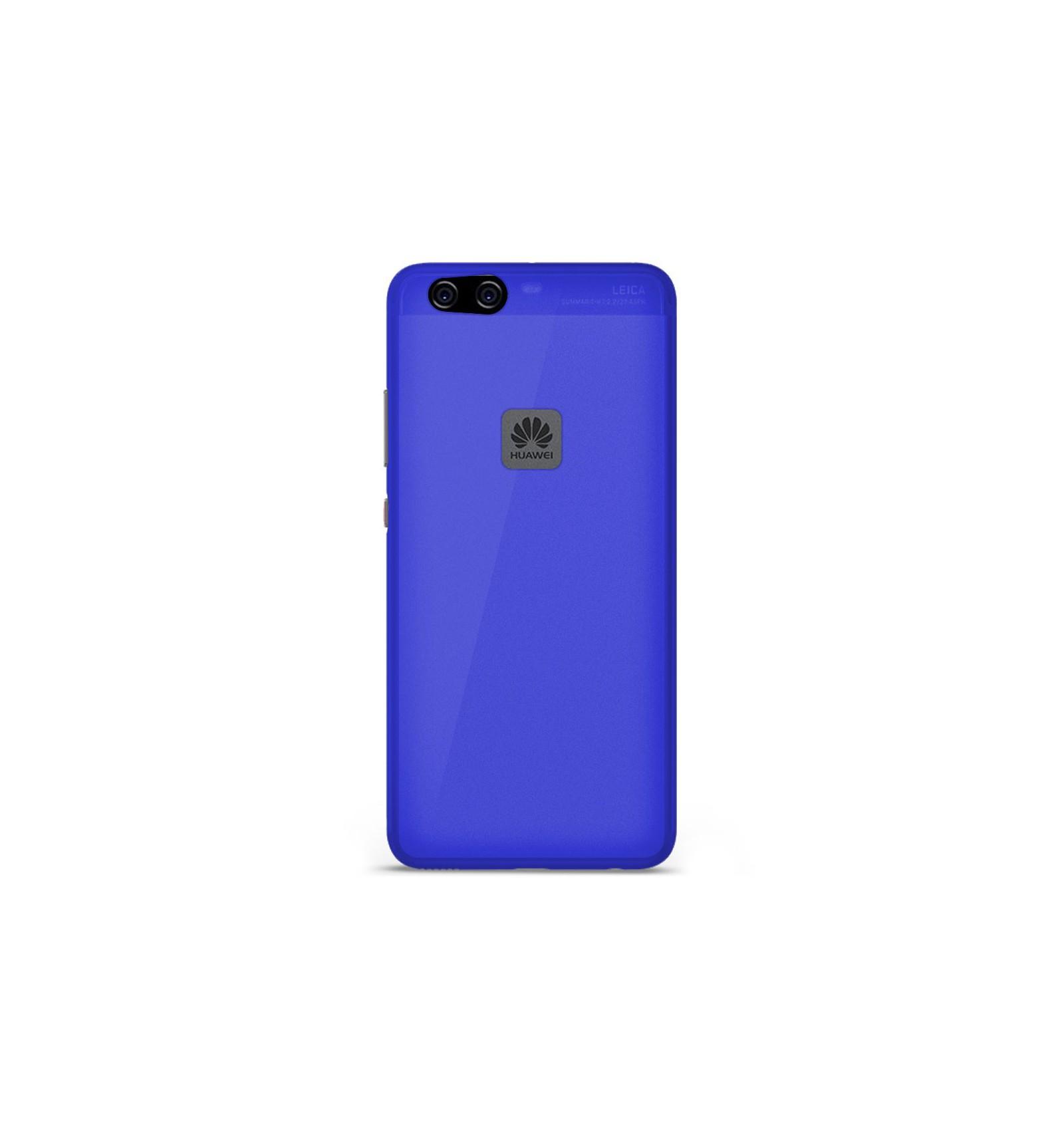 coque silicone huawei p10 lite bleu