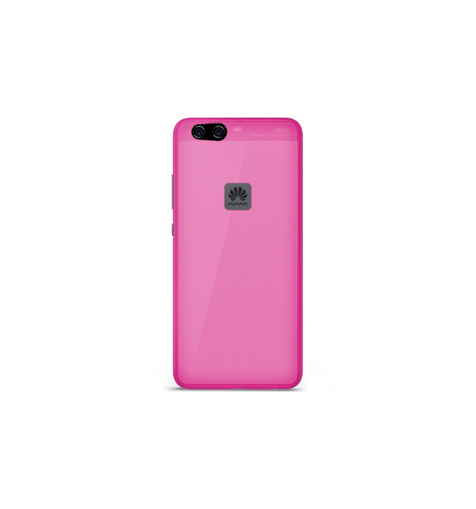 coque huawei p10 lite rose silicone