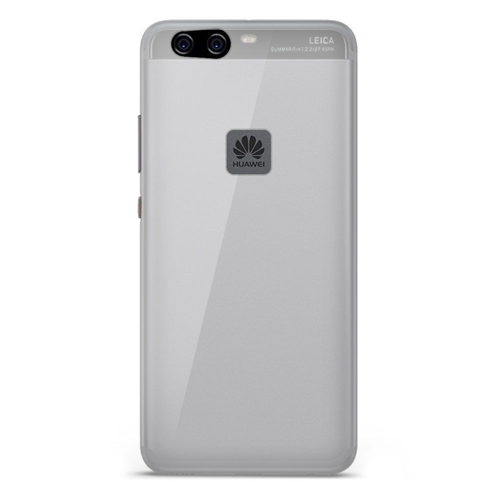Coque Huawei P10 Lite Silicone Gel givré - Transparent