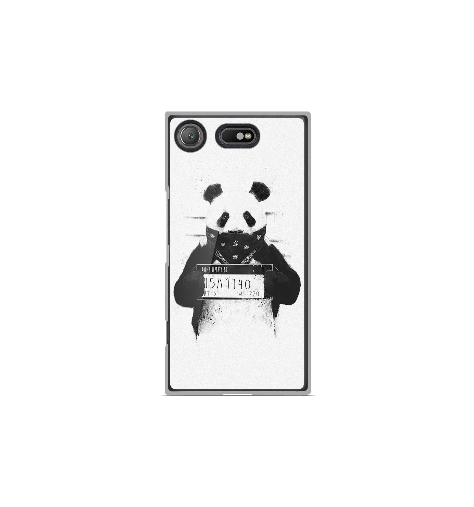 coque en silicone sony xperia xz1 compact bs bad panda. Black Bedroom Furniture Sets. Home Design Ideas