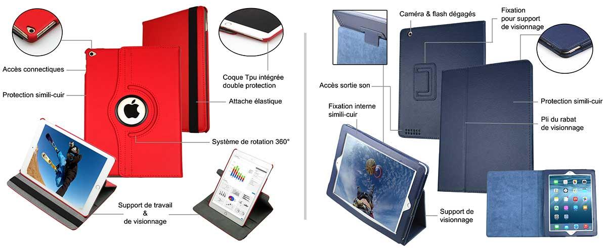 housse tablette et pochette